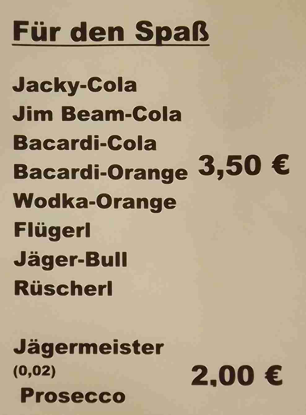 barpreise