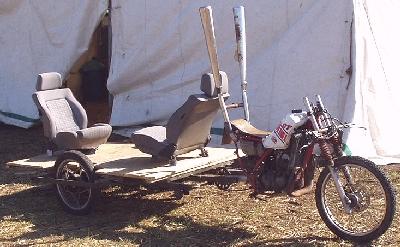 125er Ladeflächen Bike